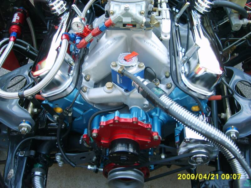 Pontiac 474 Installed and Running